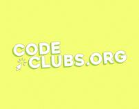 CodeClubs.org Website // Identity