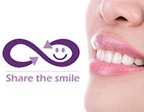 logo for share the smile