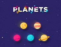 Planets Graphic Design