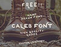 CALEB - FREE FONT