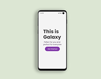 Animated Galaxy S10 Mockup
