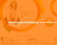 WOONGJIN H PROGRAM (Porposal Design)