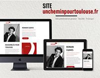 Site corporate, présentation produit