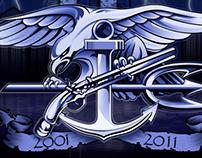 9-11 Anniversary T-Shirt Design
