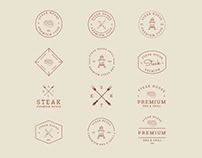 Grill and BBQ Badges