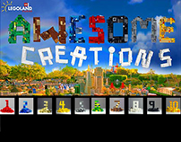 Awesome Creations, Legoland - infographic