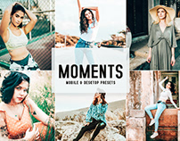 Free Moments Mobile & Desktop Lightroom Presets