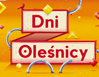Dni Olesnicy 2018 - visual identity