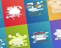Illustrations for ByteAnt Website