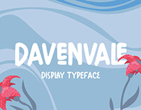 Davenvale - Display Typeface