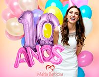 Mairla Barbosa Dermato - 10 anos