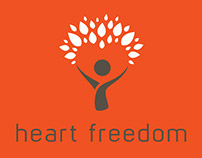 Heart Freedom ~ Branding and logo design
