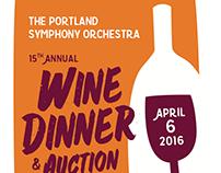 PSO Wine Dinner 2016