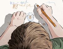 Inevitable, illustration for Popshot Magazine