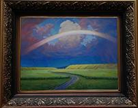 Free copies of Kuindzhi 's painting