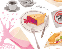 Illustration for Cinemania magazine