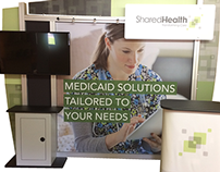 SharedHealth Trade Show Display