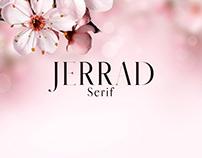 Jerrad - Free Serif Demo Font