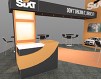 SIXT - Exhibit Design