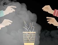 Fermati, il fumo ti spegne