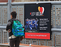 Outdoor & Transit Advertising Campaign