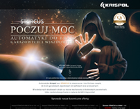 Krispol - landing page and banners
