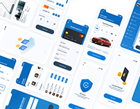 Clean Mobile Banking Application