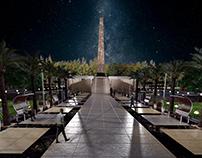 Prosaed Garden ( The obelisk Garden ), Prosaed , Egypt