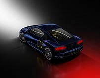 """Audi R8 e-tron 2016 """"light in darkness"""""""