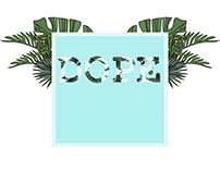 Graphic Design: Tropical