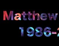 Matthew Renfro 1986-2016