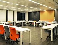 GSK training room