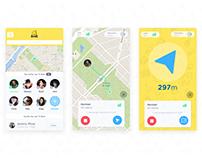 Compass mobile app concept
