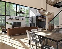 Rustic interior - słowiańska inspiracja