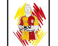 Galatasaray 2016-17 kit
