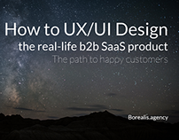 How to UX/UI Design the real-life b2b SaaS product