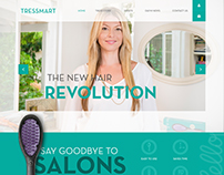 Tressmart Webpage design
