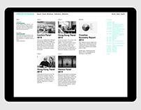 Creative Economies Website Coding
