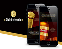 CLUB COLOMBIA - Website  botella Trophy