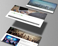 Isometric Website Mock-Ups