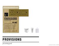 Provisions // Presenting Good.