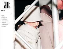 Fashion Photographer logo&portfolio