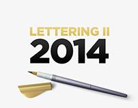Lettering 2014 II