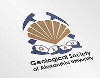GSAU (Geological Society of Alexandria University) Logo