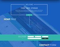 Three Gee's Storage Website
