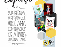 Bzee Criativo-Loja Virtual-Quadros/Virtual Frames Store