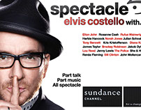 ELVIS COSTELLO SPECTACLE: Marketing Collateral