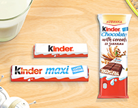 Storyboard for Kinder Chocolate Ferrero SpA
