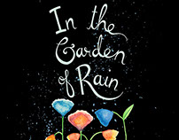 In the Garden of Rain - an illustrated book of poems