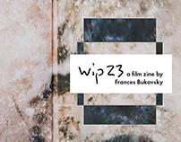 wip 23 Photography Zine